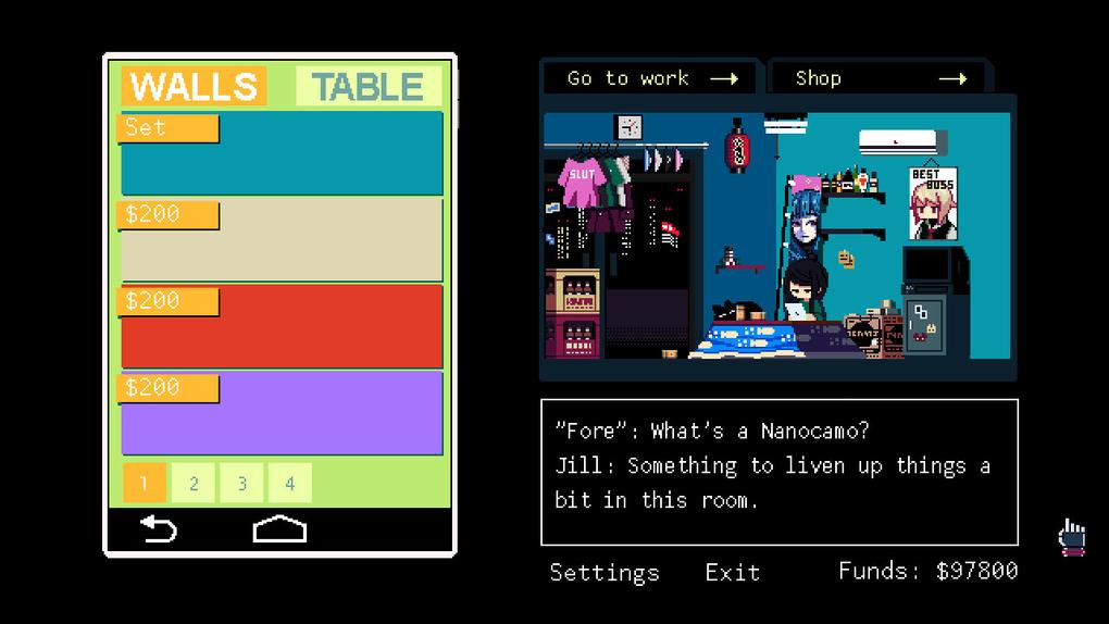 Скриншот №10 к VA-11 Hall-A Cyberpunk Bartender Action