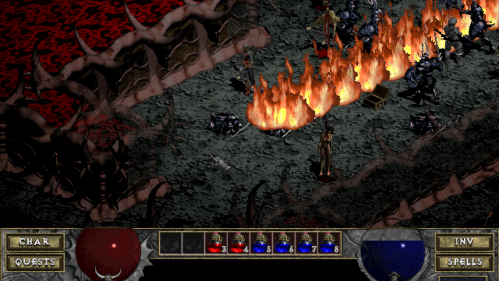 Скриншот №4 к Diablo + Hellfire