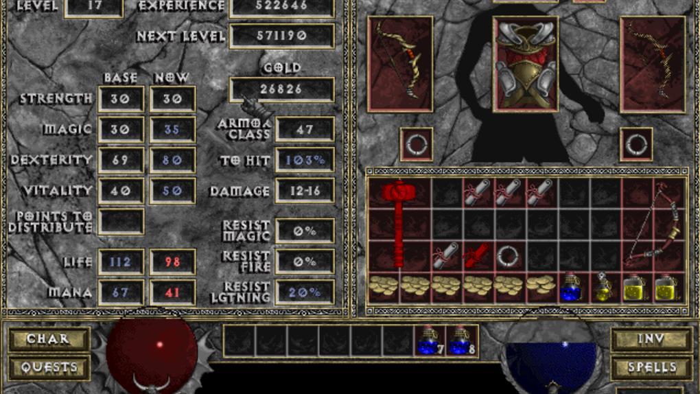 Скриншот №20 к Diablo + Hellfire