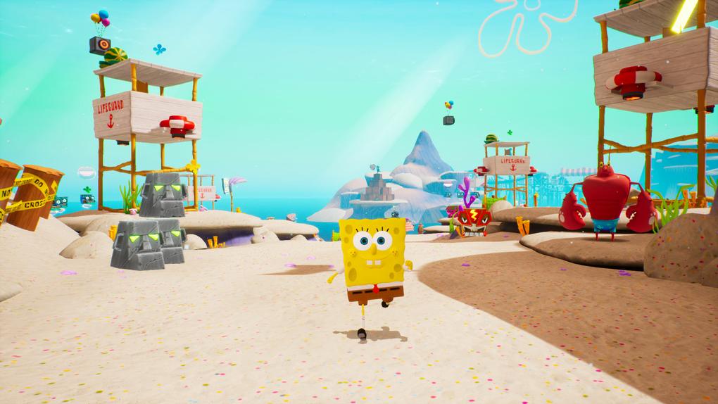 Скриншот №10 к SpongeBob SquarePants Battle for Bikini Bottom - Rehydrated